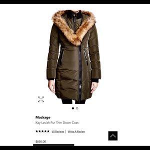 New Mackage Coat